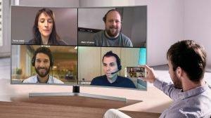videoconferencia a las tv