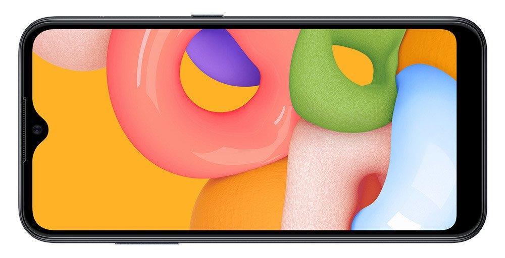 samsung m01 pantalla