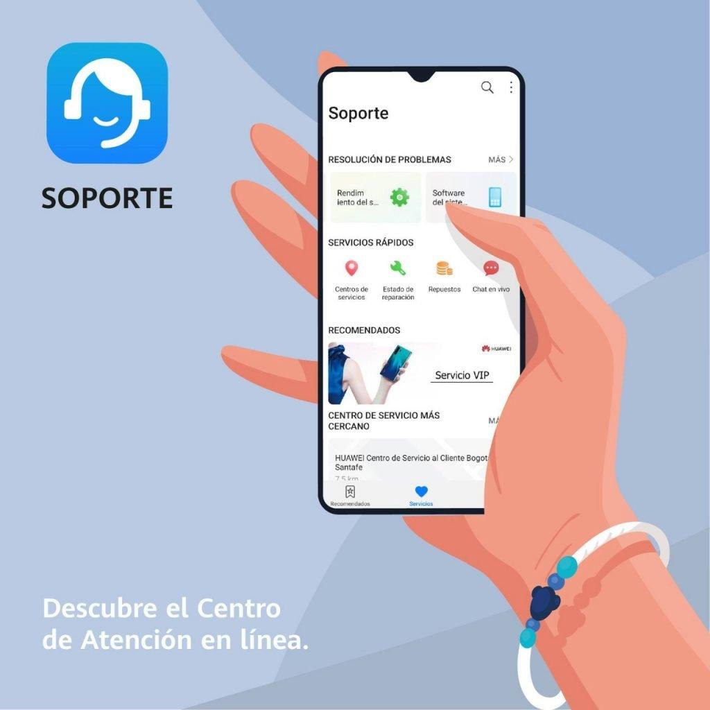 app soporte huawei bolivia