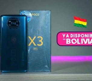 poco x3 nfc bolivia