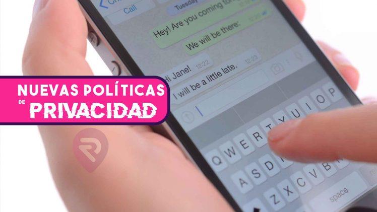 whatsapp politicas mayo