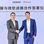 honor alianza microsoft